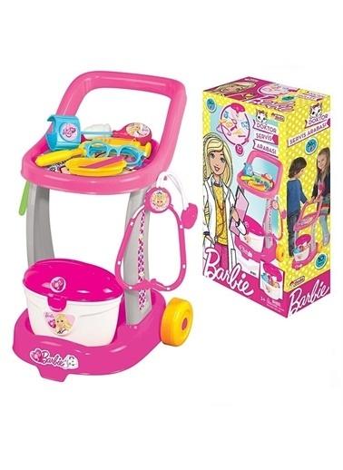 Dede Barbie Doktor Servis Arabası Kız Çocuk Oyuncak Renkli